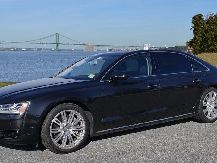 Tmx Riverfront Audi Sedan 51 33175 1567434430 Woodbury, NJ wedding transportation