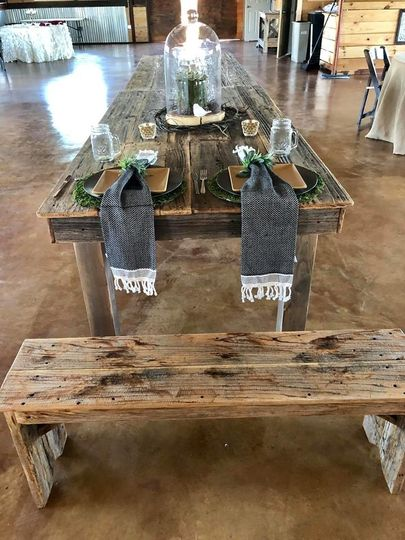 Barnwood dining tables