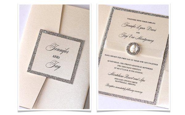 Embellished Paperie Wedding Invitations Arizona