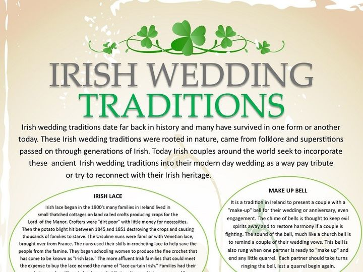 Tmx 1447166938334 Irishweddingtraditionsinfographic800 Lynbrook wedding jewelry