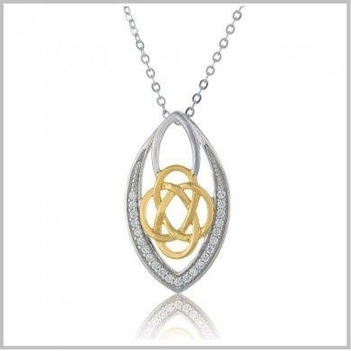 Tmx 1447166974996 Celticknotmarquisependantshad600 Lynbrook wedding jewelry