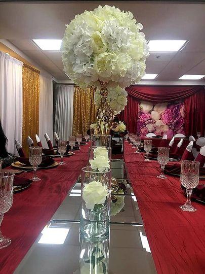 Small elegant table setting!