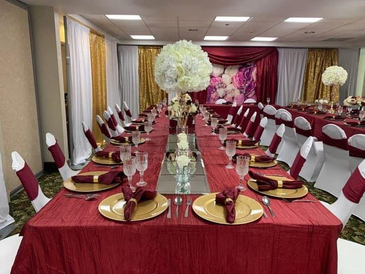 Engagement dinner celebrations