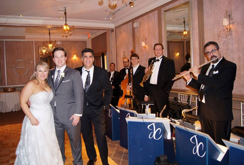 Jerry Costanzo Jazz & Swing band and the couple