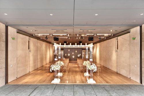 nasher sculpture center dallas wedding venue 002