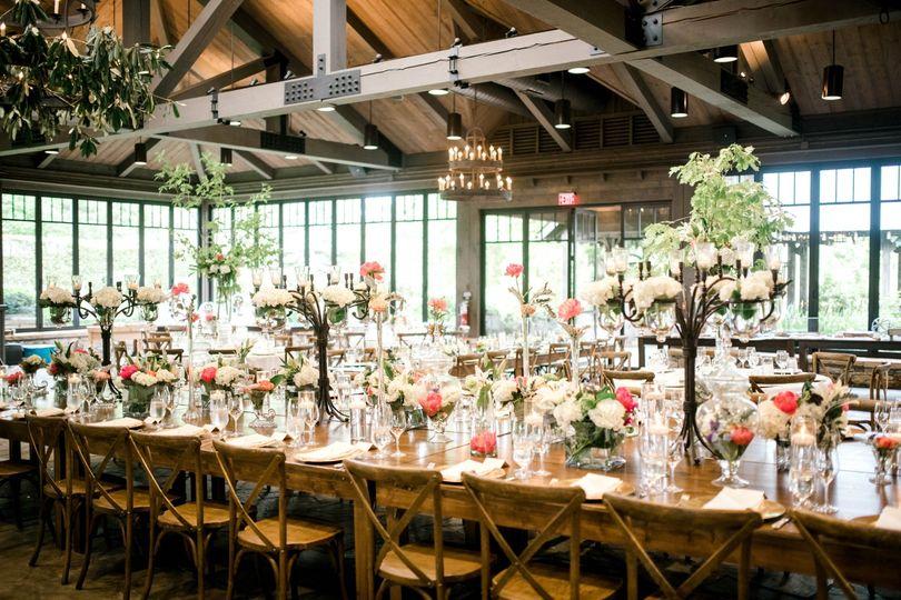A lovely banquet setup