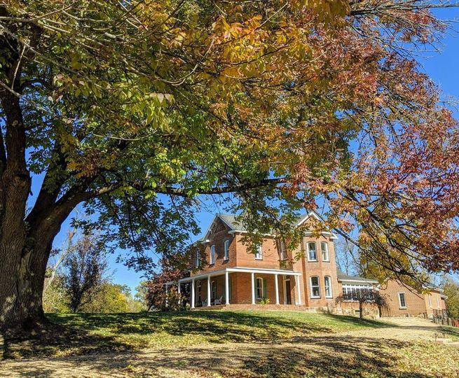 Havisham House in the Fall