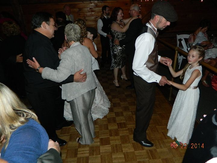 The Groom (David) dancing at his reception @ Dell-lea Country Club. Chichester NH.