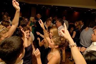 Guest dancing for a reception at Wolfeboro Inn in Wolfeboro NH.