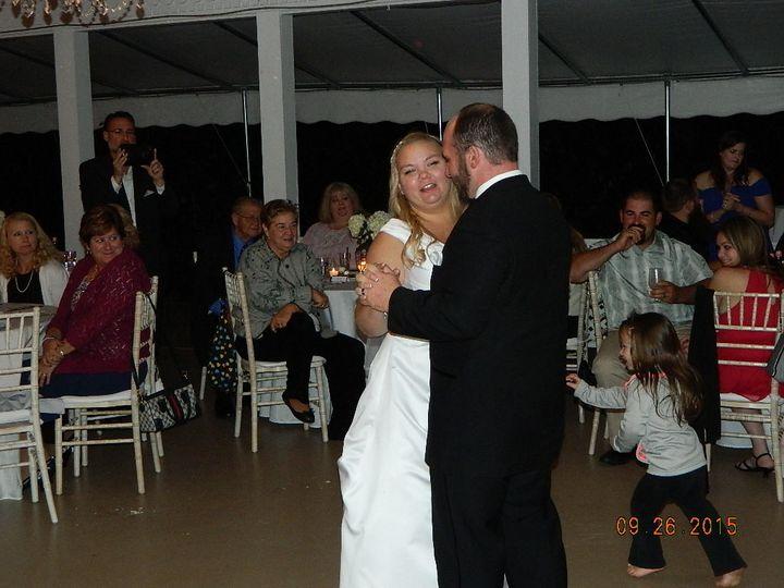 Bride & groom first dance @ eagle mountain house (carriage house) jackson, nh.