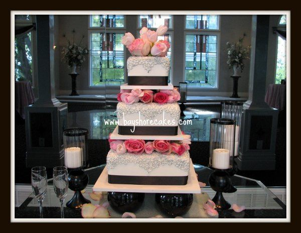 Tmx 1296609773124 3tierspacedaustrallianlacesilver Sandy wedding cake