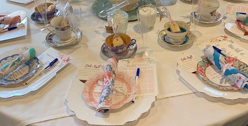 Tea themed bridal shower