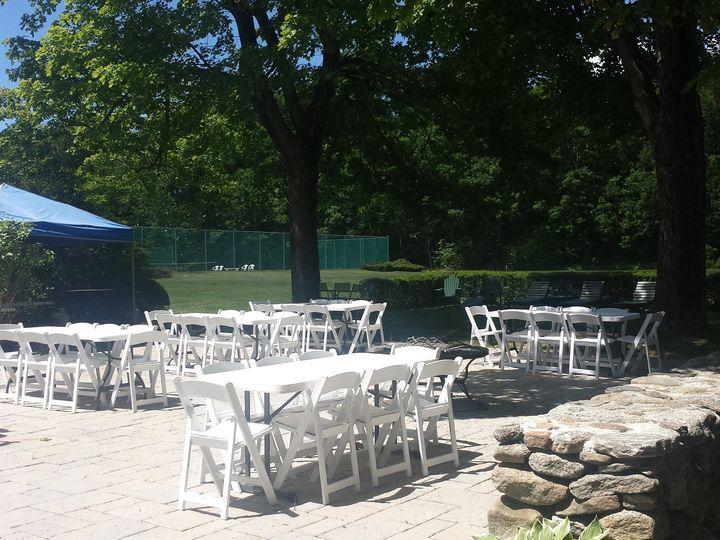 Tmx 1510525286657 Patio Bbq Set Up Sunapee wedding venue