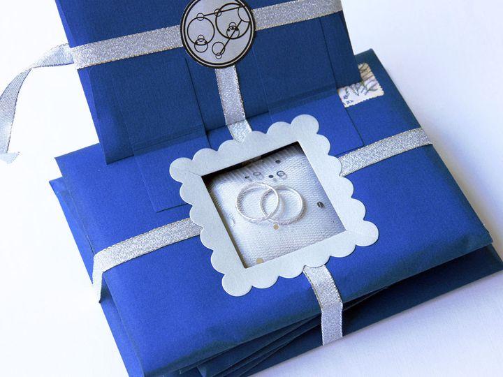 Tmx 1444748509239 Doctorwhoringbearersboxalternativeweddingceremonyo Jasper, Indiana wedding invitation