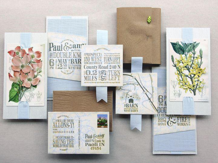 Tmx 1444748563109 Rusticromanceweddinginvitationssogladgirl Jasper, Indiana wedding invitation