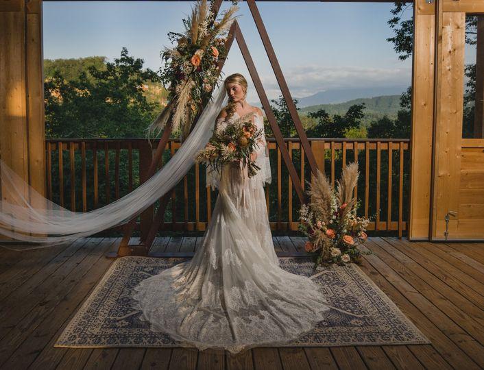 Sky View Pavilion Bride