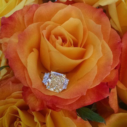 Louis Glick yellow diamond