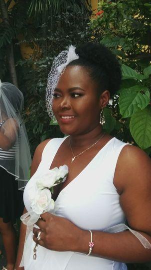 Bride glam