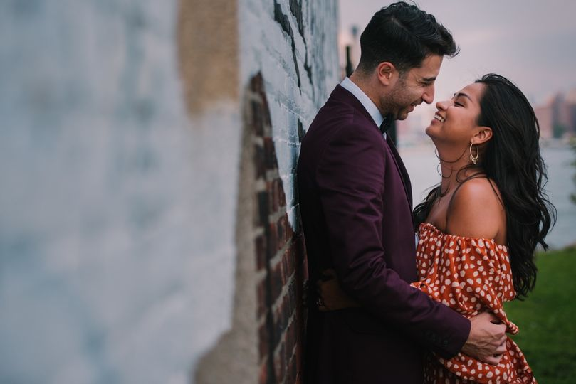 Brooklyn engagement shoot