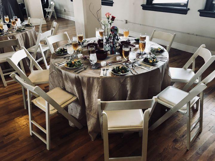 Wedding reception - victory arts center