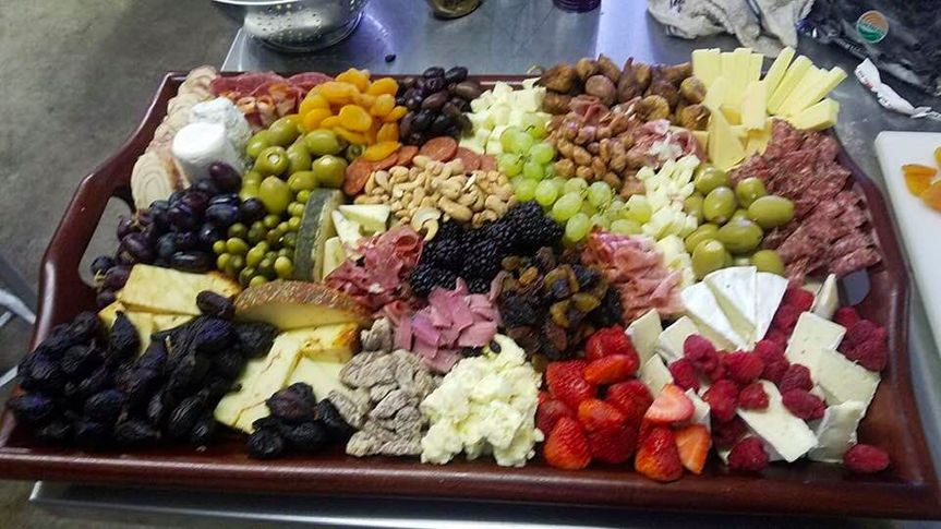 T&p lofts party room - wedding shower - charcuterie tray