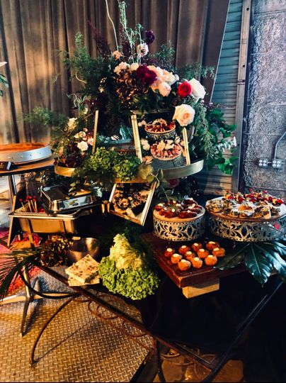 Tabled Hors D'oeuvres