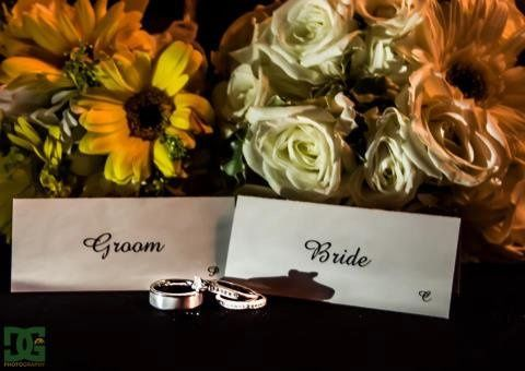 Flowers by Daves Flower Box.  They were beautiful and fresh.  The table centerpieces were really...