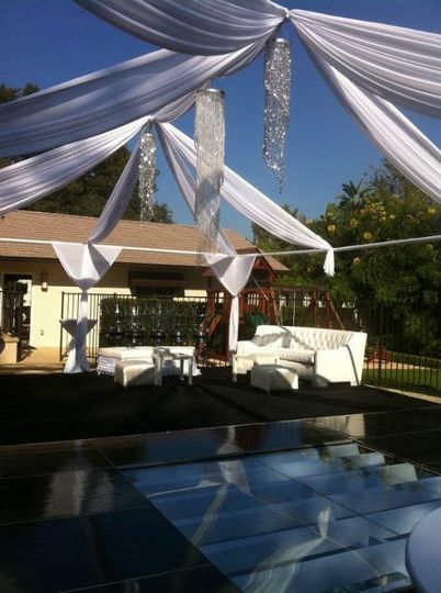 Dance FLoor Pool Cover Los Angeles Orange County San Diego Glass