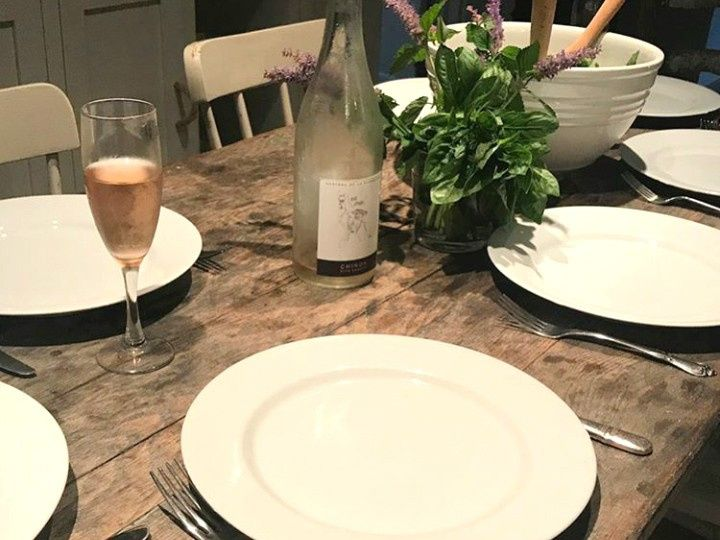 Quaint table setting