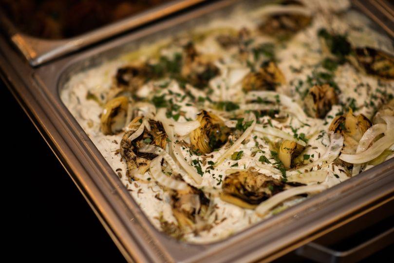 Grilled Artichoke Ricotta Dip