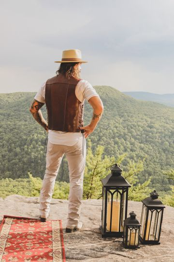 Taking in the TN mountain view