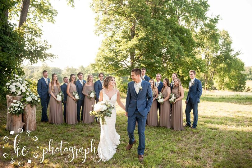Our beautiful wedding group