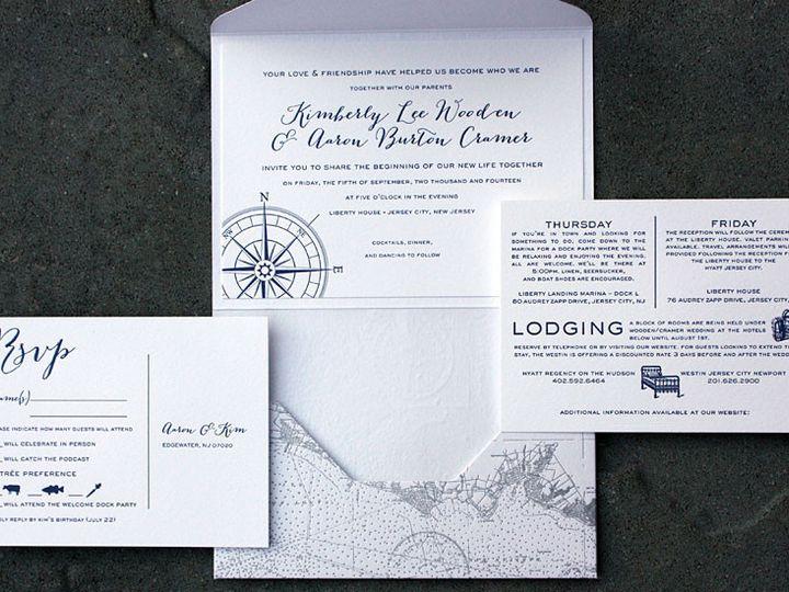 Tmx 1432226334151 Weddingimgkimberlyandaaron090514 Brooklyn wedding invitation