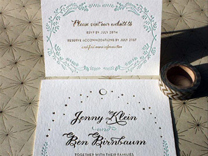 Tmx 1432226372609 Weddingimgjennyandben090614 Brooklyn wedding invitation