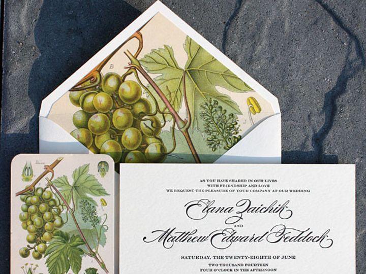 Tmx 1432226571672 Weddingimgelanaandmatthew062814 Brooklyn wedding invitation