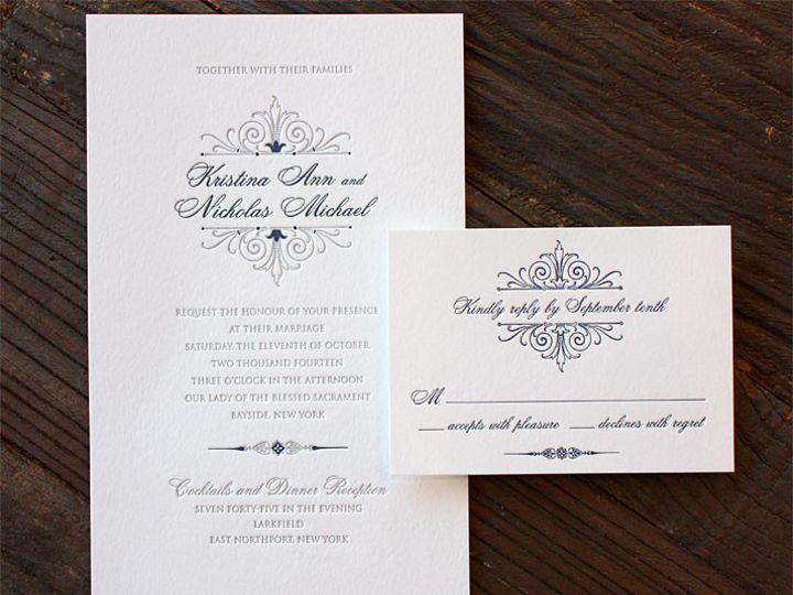 Tmx 1432226713126 Huntimgkristinaandnicholas101114 Brooklyn wedding invitation