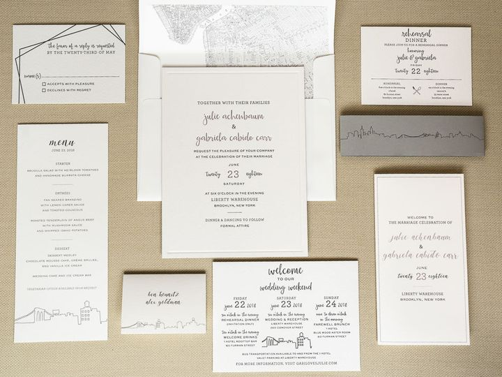Tmx 1534964918 B1d9b988d1ea0979 1534964917 0b400e49d4022174 1534964916394 4 20180816 Lion In T Brooklyn wedding invitation