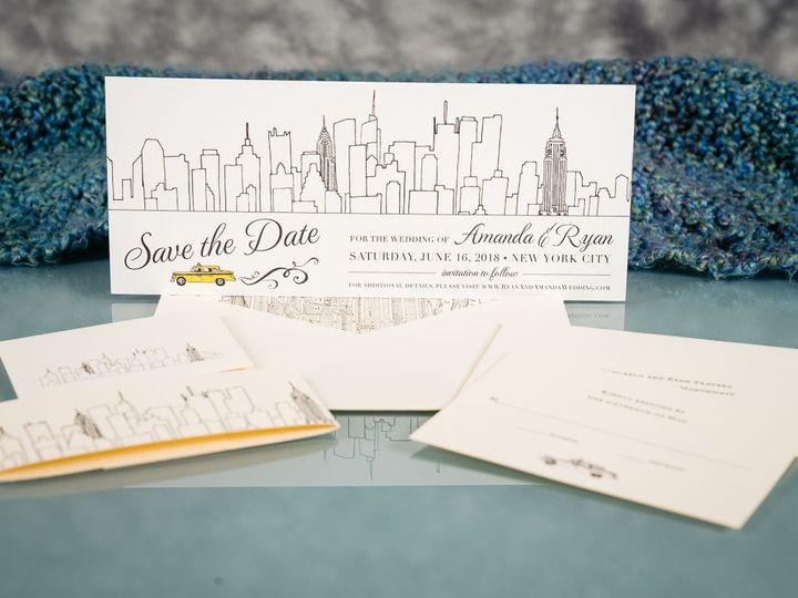 Tmx 1534965185 A8b84cf140170d45 1534965184 A730e82efd3a656d 1534965183502 9 20180813 Lion In T Brooklyn wedding invitation