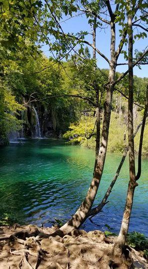 waterfall away
