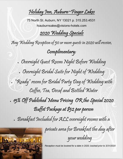2020 Wedding Special