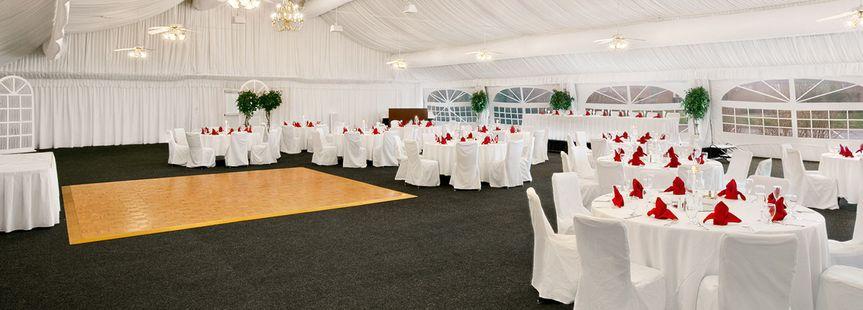 Reception and dance floor