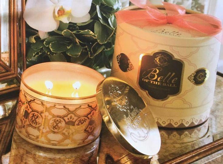 Custom candle creations