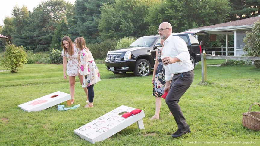 Games on the lawn