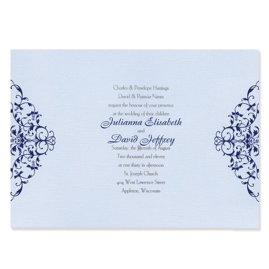 An elegant and original style, our unique Whitney Wedding Invitations make a distinctively stylish...