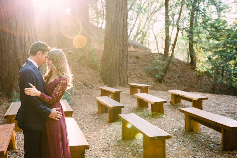 Sunlit wedding