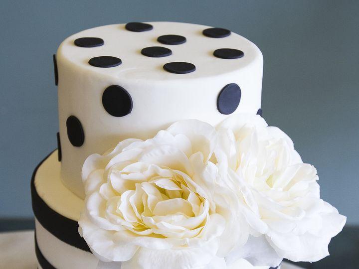 Tmx 1519153521 87e2f58564008349 1519153519 08b5e4638a480a7d 1519153512595 1 Black And White Winston Salem wedding cake