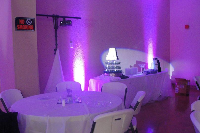 Purple light design