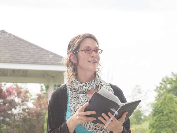 Tmx Rebecca Reading At Ceremony E1470945454603 51 1023375 Ithaca, New York wedding officiant
