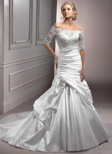 Marie Antoinette Bridal Dress Attire Derby Ct Weddingwire