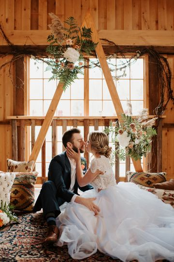 Indoor Elopement